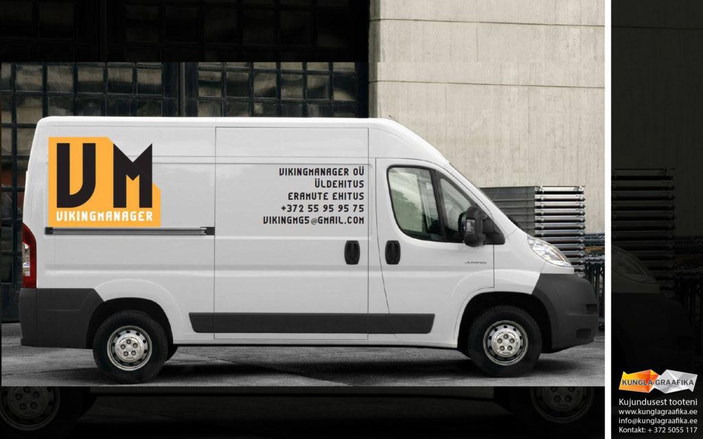 Kujundus, disain autole, logo - Martin Kungla